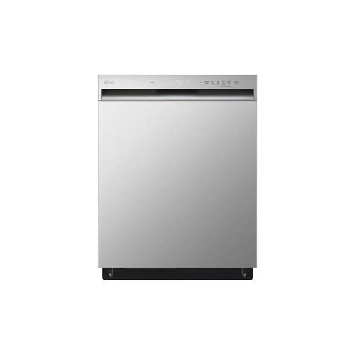 LG - Front Control Dishwasher with QuadWash™