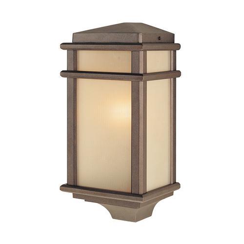 Mission Lodge Small Pocket Lantern Corinthian Bronze