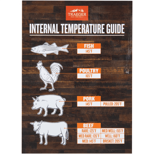 Internal Temperature Guide Grill Magnet