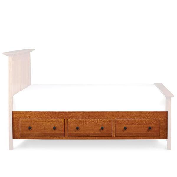 See Details - McCoy Under-Bed Storage, King/Queen