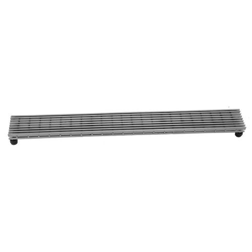 """Product Image - Brushed Stainless - 24"""" Channel Drain Bar Grate"""
