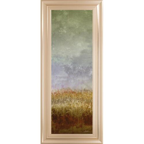 """Lush Field Il"" By John Butler Framed Print Wall Art"