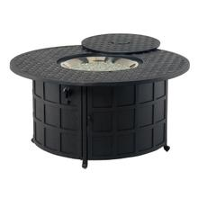 View Product - Newport Gas Fire Pit in Black