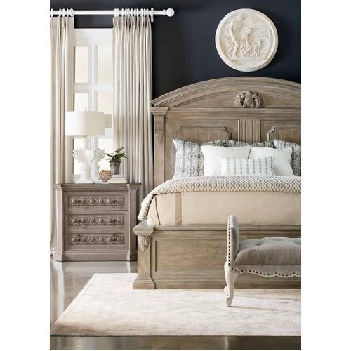 A.R.T. Furniture - Arch Salvage King Chambers Panel Bed