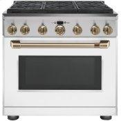 """36"""" All-Gas Professional Range with 6 Burners (Natural Gas)"""