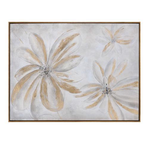 Daisy Stars Hand Painted Canvas