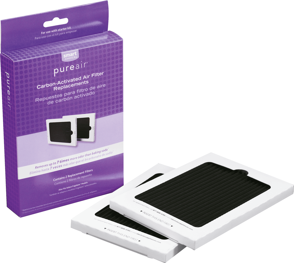 FrigidaireSmart Choice Carbon-Activated Air Filter Refill Kit, 2 Pack