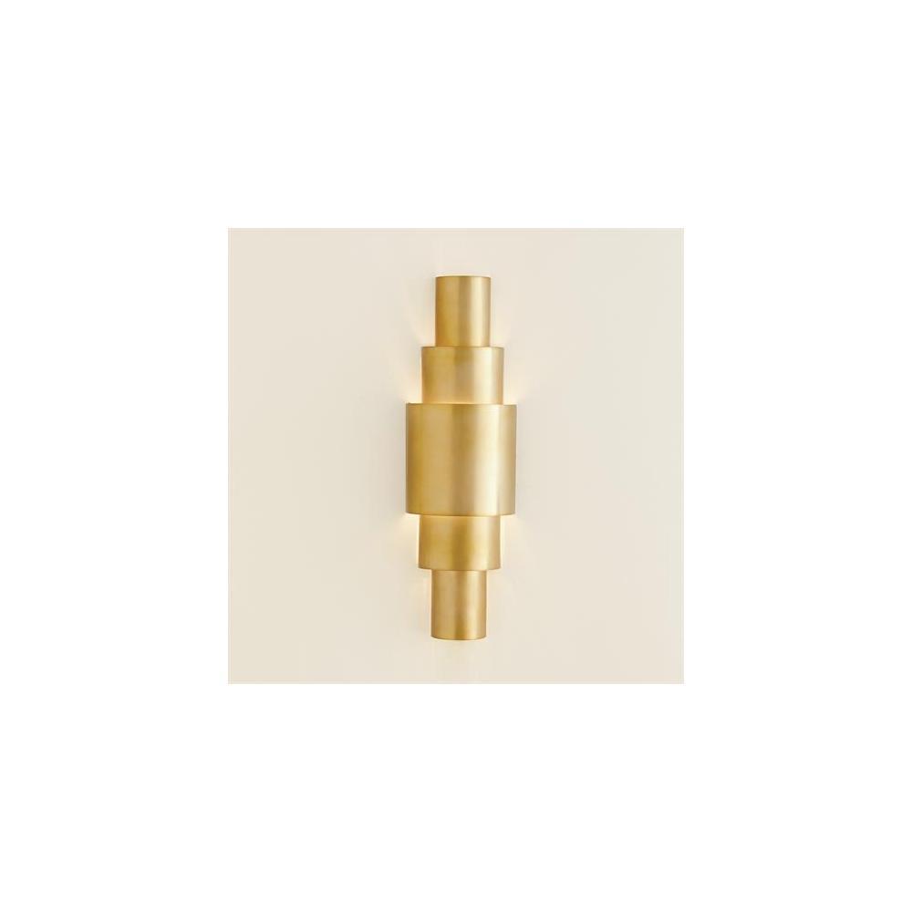 Babylon Sconce-Antique Brass-HW