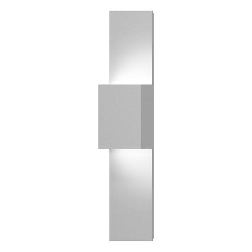 Sonneman - A Way of Light - Flat Box Up/Down LED Panel Sconce [Color/Finish=Textured White]
