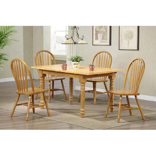 "Arrowback Dining Chair - Light Oak (38"")"
