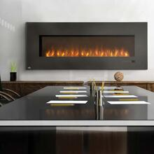 See Details - Slimline Series Electric Fireplace