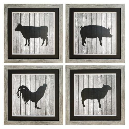 BARNCOW,PIG,ROOSTER,SHEEP