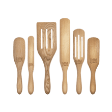 Mad Hungry Original 6-Piece Ash Wood Spurtle Set