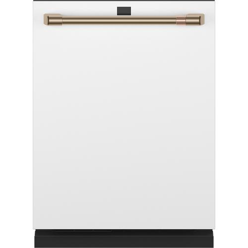 Cafe Canada - Café ™ Stainless Interior Built-In Dishwasher with Hidden Controls Matte White
