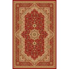 "Persian Design 1 Million Point Heatset Monalisa T06 Area Rugs by Rug Factory Plus - 5'4"" x 7'5"" / Burgundy"