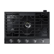 "30"" Smart Gas Cooktop with 22K BTU Dual Power Burner in Black Stainless Steel.  This is a Stock Photo of a New Out of Box Appliance, actual unit (s) appearance may contain cosmetic blemishes. Please call store if you would like actual pictures). This unit carries our 6 month warranty, MANUFACTURER WARRANTY and REBATE NOT VALID with this item. ISI 43961 BB"