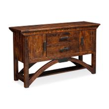 B&O Railroade Trestle Bridge Sideboard, Character Cherry