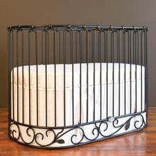 See Details - Jadore Crib-cradle Distressed Black