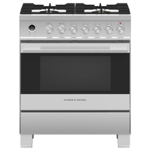 """See Details - Dual Fuel Range 30"""", Self-cleaning"""