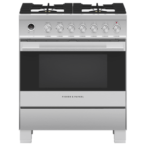 """Dual Fuel Range 30"""", Self-cleaning Product Image"""