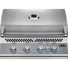 See Details - Built-In 700 Series 32 RB with Infrared Rear Burner , Stainless Steel , Natural Gas