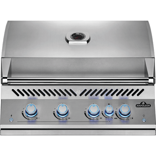 Built-In 700 Series 32 RB with Infrared Rear Burner , Stainless Steel , Natural Gas