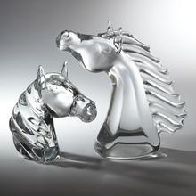Thoroughbred Horse Head-Lg
