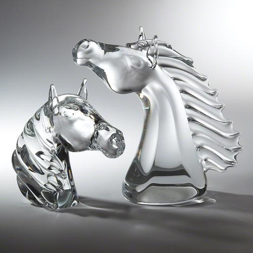 Thoroughbred Horse Head-Sm