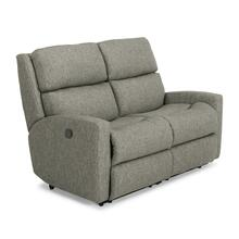 Fabric Power Reclining Loveseat with Power Headrest *Harkness Exclusive*
