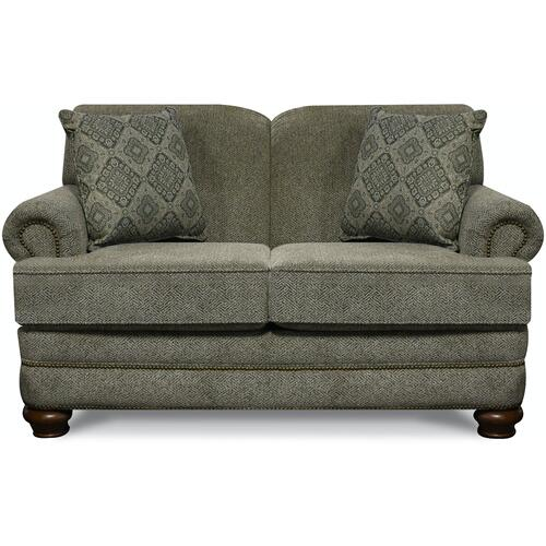 England Furniture - 5Q06N Reed Loveseat with Nails