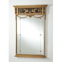 See Details - Griffon Mirror - Black/gold
