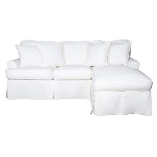 Product Image - Horizon Slipcovered Sleeper Sofa w/Chaise - Color 423080