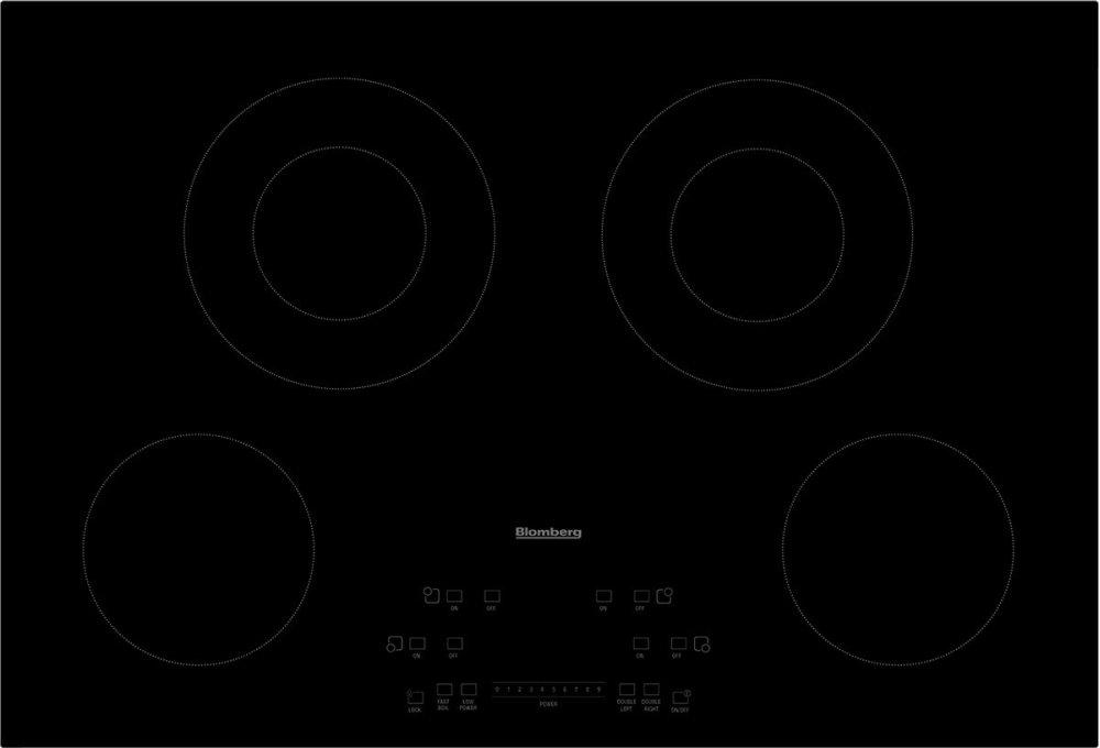 30in electric cooktop, 4 burner, touch controls