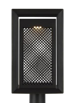 1 - Light Outdoor Post Lantern Product Image