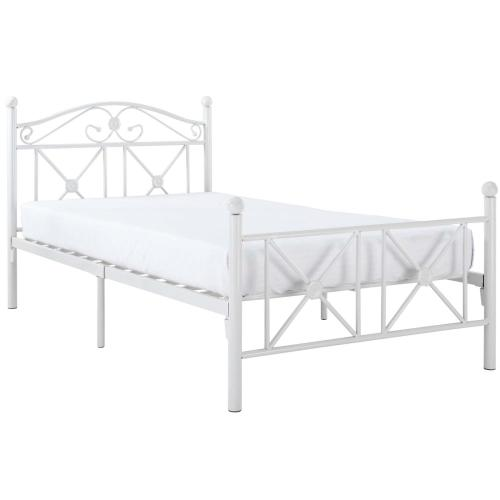 Modway - Cottage Twin Bed in White