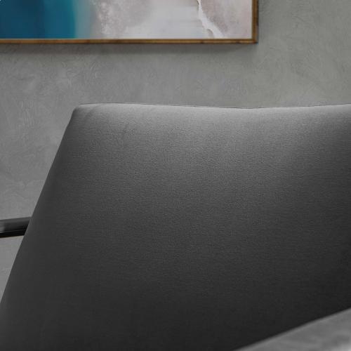 Modway - Seg Performance Velvet Accent Chair in Gold Gray
