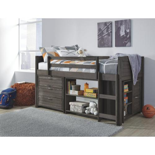 Twin Loft Bed with Storage Drawers