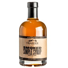 Traeger Smoked Simple Syrup