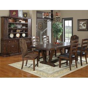 "Emerald Home Furnishings - Barstool Bonded Leather Seat Rta 24"""