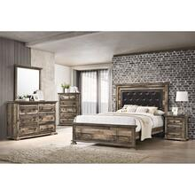 Cortez Bedroom - KIng Bed, Dresser, Mirror, Chest, and Night Stand