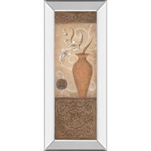"""""""Flower Pot Il"""" Mirror Framed Print Wall Art"""