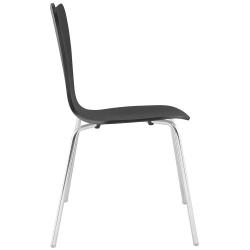 Ernie Dining Side Chair in Black