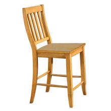 See Details - School House Counter Height Stools - Light Oak (Set of 2)