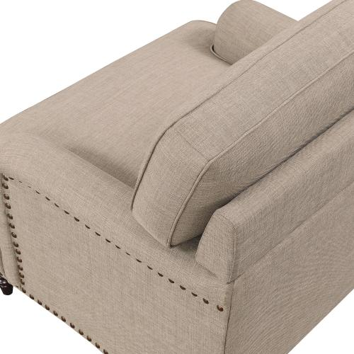 Abby Chair in Heirloom Smoke / Pewter