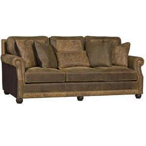 King Hickory - Julianna Leather/Fabric Sofa