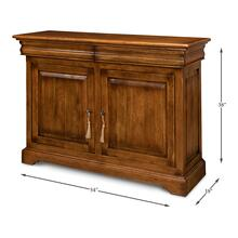 See Details - Charterhouse Cabinet, Fruitwood