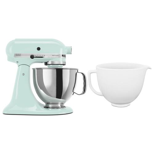 Gallery - Exclusive Artisan® Series Stand Mixer & Ceramic Bowl Set - Ice