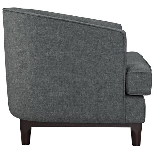 Coast Armchairs Set of 2 in Gray