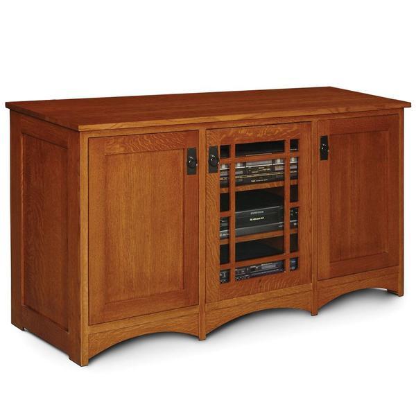 See Details - Prairie Mission 3-Door TV Stand