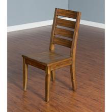 See Details - Natural Mindi 4 Ladderback Chair